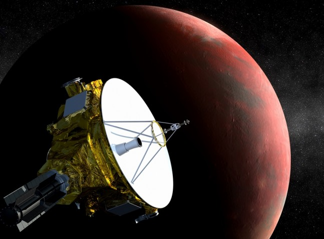 NASA's New Horizons spacecraft has woken up from hibernation for the last time. Image Credit: NASA as seen on Spaceflight Insider