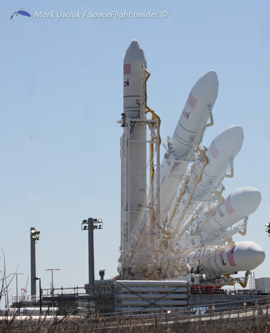 Antares rises at Pad-0A during the first flight of the rocket in April of 2013. Photo Credit: Mark Usciak / SpaceFlight Insider