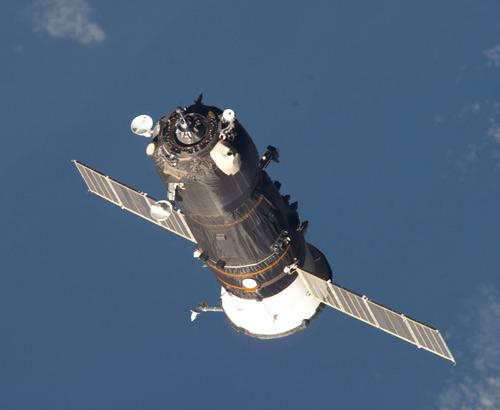 A Progress supply ship approaching the International Space Station. Photo Credit: NASA