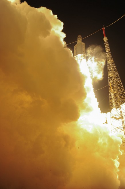 Liftoff - Photo credit: ESA
