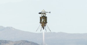 Xombie spacecraft Astrobotic test flight Photo Credit: NASA / Masten Space Systems / Astrobotic