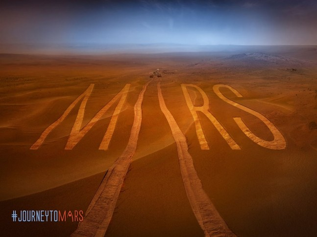 Journey to Mars graphic as seen on Spaceflight Insider