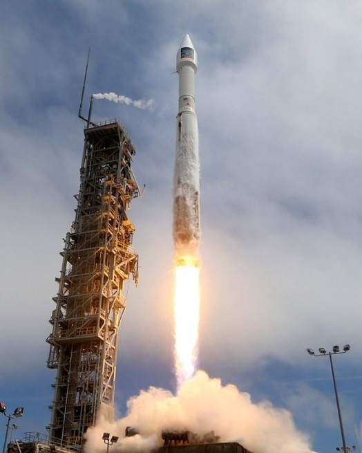 Today's flight marked the tenth of the year carried out by Colorado-based ULA. Photo Credit: United Launch Alliance