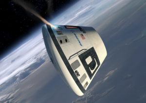 The CST-100's RCS system will direct the path throughout the course of its mission. Image Credit: Boeing