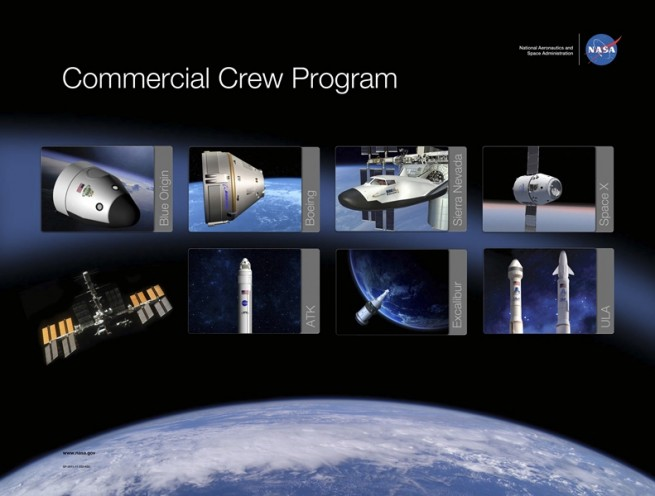 There have been a number of companies that have competed under CCP since 2010. Image Credit: NASA