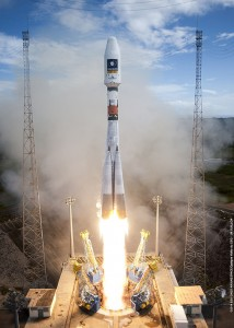 On August 22, a Russian Soyuz lifted off from Kourou, French Guiana. Photo Credit: Arianespace