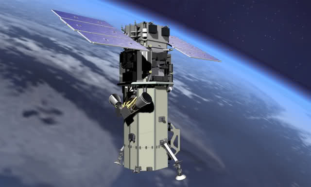 Highresolution WorldView Satellite Set To Launch Via ULA Atlas - Worldview satellite image