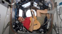 Chris Hadfield in the Cupola of the ISS. Photo Credit: NASA