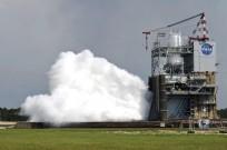 Engine test at Stennis A-1 test stand. Photo Credit: NASA