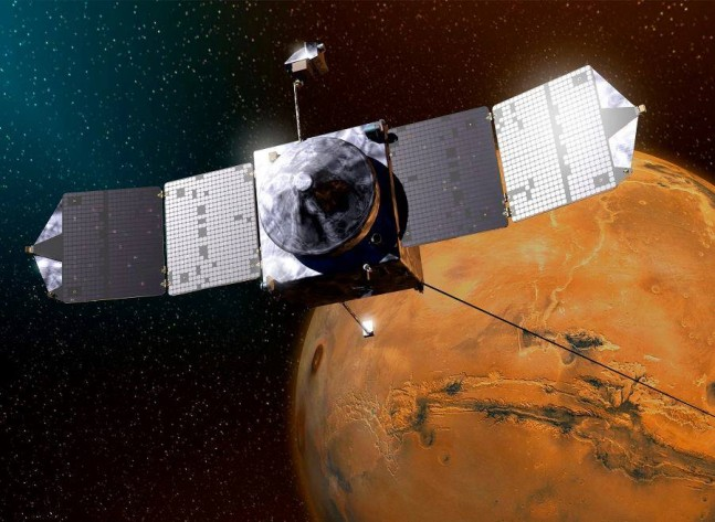MAVEN as seen on Spaceflight Insider