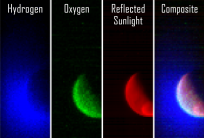 MAVEN has sent us its first observations of the Martian atmosphere. Image Credit: NASA