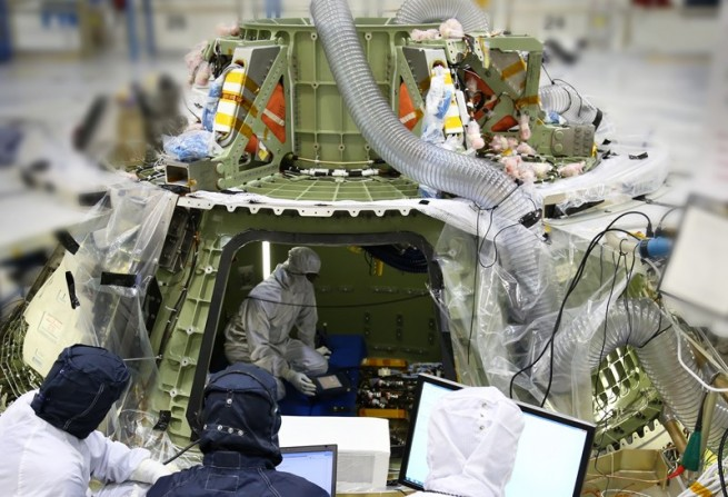 NASA has made steady progress, with a relatively flat budget, in getting Orion into service. Photo Credit: NASA