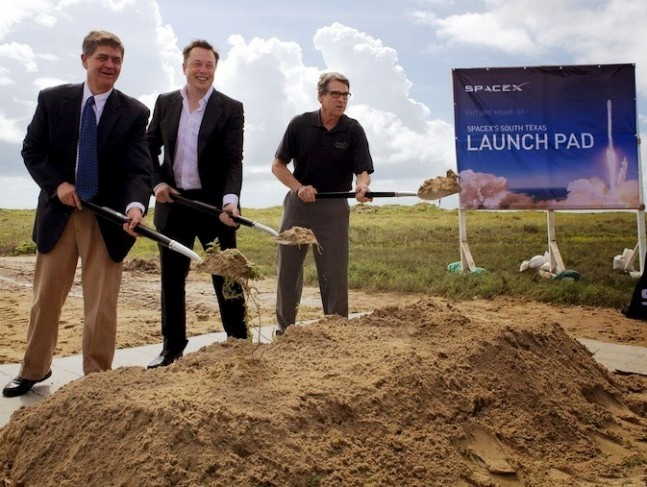 SpaceX breaks ground for Spaceport in Texas, Musk aims for ...