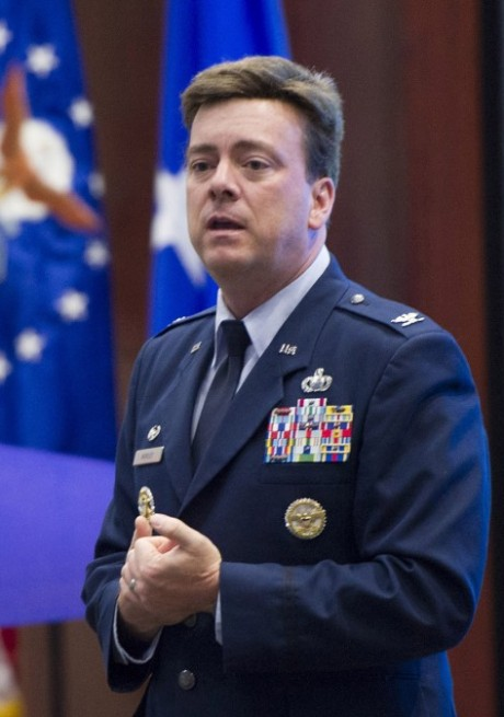 Col. Chris Worley, AFTAC commander. Photo Credit: Matthew Jurgens / U.S. Air Force