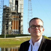 Michael Seeley at Cape Canaveral Air Force Station Space Launch Complex 37