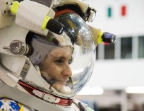 European Space Agency astronaut Samantha Cristoforetti preparing for her upcoming mission as part of the Expedition 42 and 43 crews on the International Space Station. Photo Credit: ESA / NASA