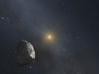 Artist's impression of a Kuiper Belt Object (KBO), like the ones New Horizons will flyby after Pluto. Image Credit: NASA, ESA, and G. Bacon (STScI)