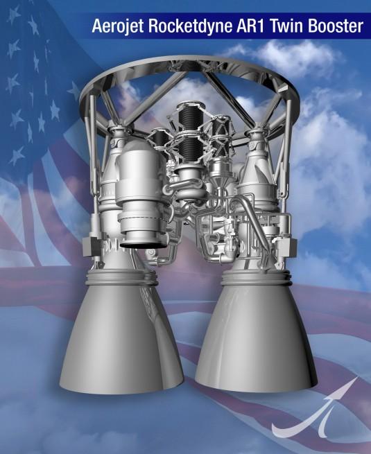 Aerojet Rocketdyne's AR-1 engine. Image Credit: Aerojet Rocketdyne
