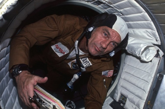 """The Cygnus spacecraft which will carry out the Orb-3 mission - has been named in honor of NASA astronaut """"Deke"""" Slayton. Photo Credit: NASA"""