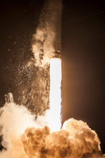 SpaceX set the Dragon spacecraft on its way on the CRS-4 mission to the ISS on Sept. 21, 2014. Photo Credit: SpaceX