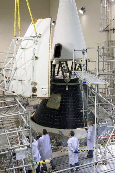 NASA's Orion spacecraft complete, ready for move to Space ...