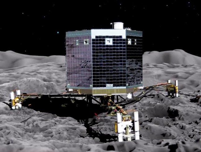 Rosetta ESA European Space Agency Philae Lander Comet 67P photo credit ESA posted on SpaceFlight Insider