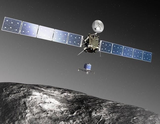 Rosetta_Philae_Artist_Impression_ESA European Space Agency image posted on SpaceFlight Insider