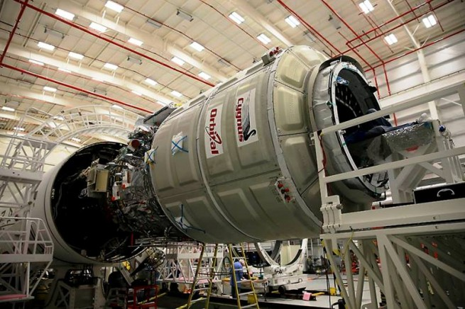 At present, it is unclear when the next Cygnus spacecraft will take to the skies. Photo Credit: Orbital / NASA