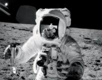 Apollo 12 Alan Bean Ocean of Storms Intrepid NASA photo posted on SpaceFlight Insider