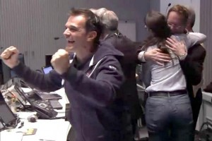 ESA celebrates the triumph of landing on a comet--but is such celebration warranted? Photo Credit: ESA