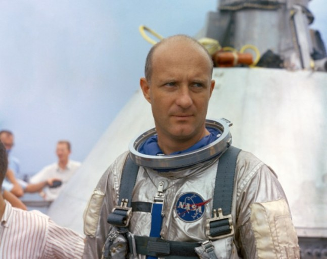 Gemini Apollo project program Kennedy Johnson Space Center astronaut Tom Thomas P. Stafford NASA photo posted on SpaceFlight Insider