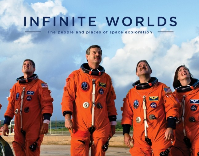Infinite_Worlds_Cover_Art - Simon and Schuster image posted on SpaceFlight Insider