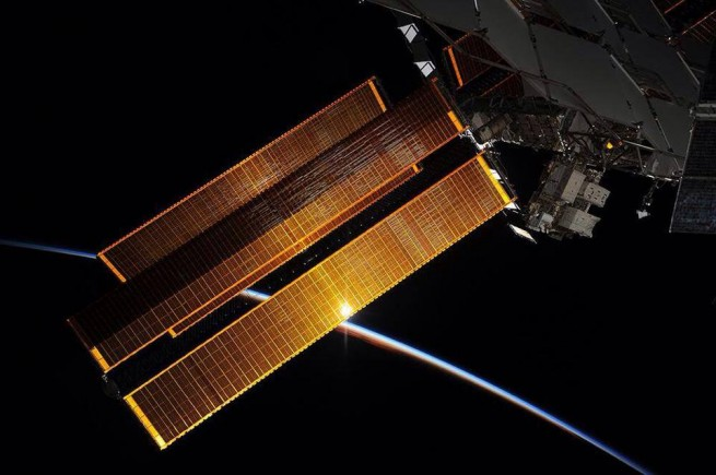 International Space Station orbit Earth ISS spacecraft NASA photo posted on SpaceFlight Insider