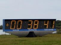 Kennedy Space Center Countdown Clock photo credit Carleton Bailie SpaceFlight Insider