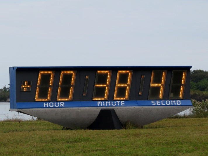 Countdown Clock retired, poised for move to Kennedy Space ...