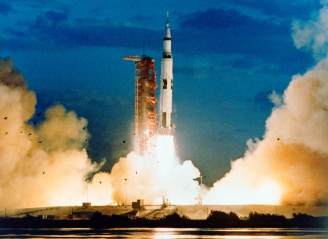 Kennedy Space Center Launch Complex 39 Saturn V Apollo 4 NASA photo posted on SpaceFlight Insider