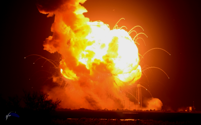 Wednesday's mishap - marks the first major accident for one of the two company's working under NASA's Commercial Resupply Services contract. Photo Credit: Elliot Severn / SpaceFlight Insider