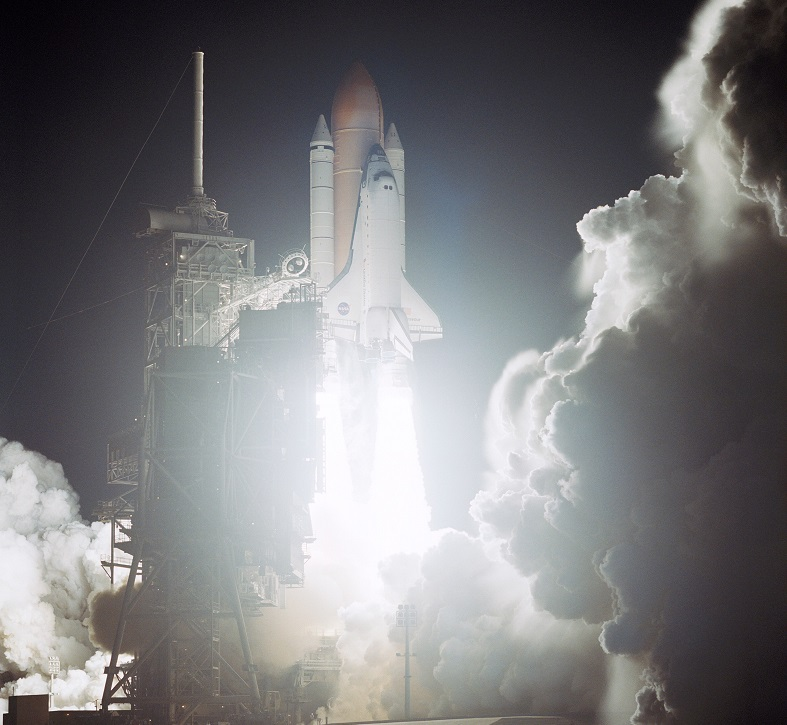 STS-113 launch on Nov 23, 2002...