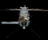 Skylab_4_undocking photo Apollo CSM Command Service Module NASA image posted on SpaceFlight Insider