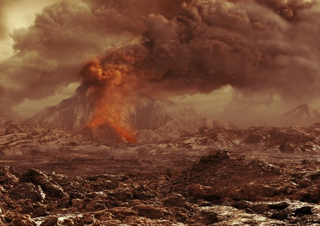 Volcanic activity on Venus as posted on Sapceflight Insider