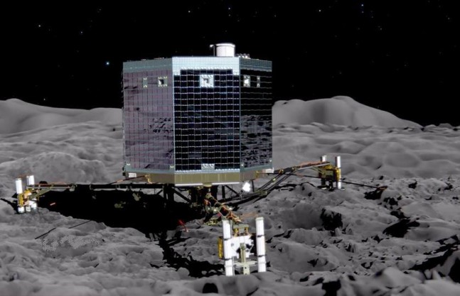 Philae, the little lander that captured our hearts, has entered into hibernation mode. Image Credit: ESA posted on SpaceFlight Insider