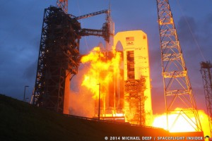 NASA's Orion spacecraft successfully completes its maiden flight, ushering in a new ear in space exploration. Photo Credit: Mike Deep/Spaceflight Insider as seen on Spaceflight Insider