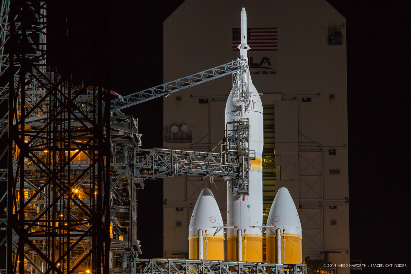 NASA Orion Test Flight SLC 37 - Pics about space