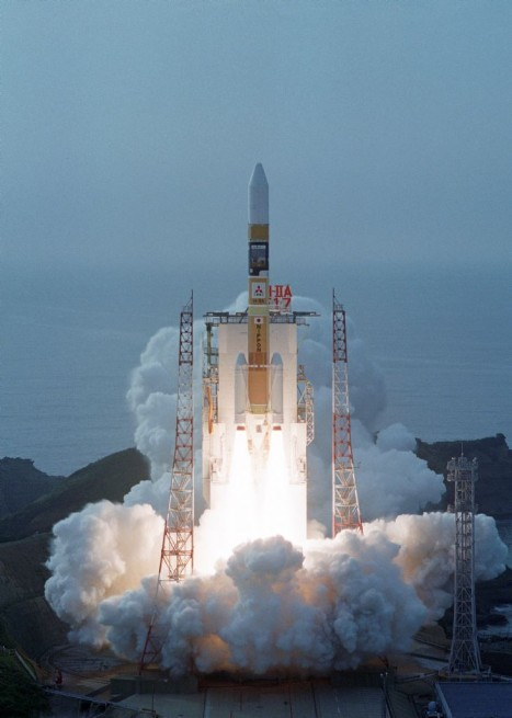 The 17th H-IIA launch out of Tanegashima Space Center at the Yoshinobu Launch Complex. Photo Credit: JAXA
