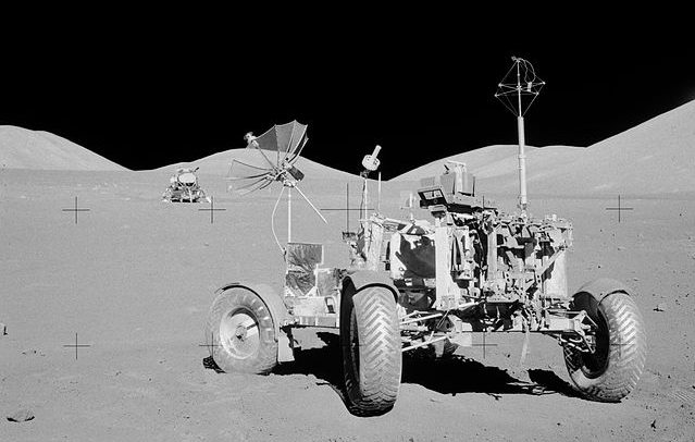 The Apollo 17 lunar rover. Photo Credit: NASA