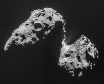 Mosaic of Comet 67P as seen by Rosetta's NAVCAM on Nov. 20. Image Credit: ESA as seen on Spaceflight Insider