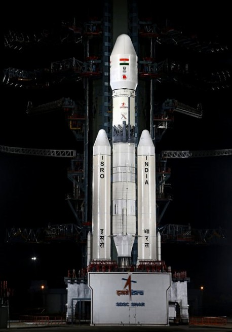 Indian Space Research Organisation  ISRO GSLV Mk III photo credit ISRO posted on SpaceFlight Insider