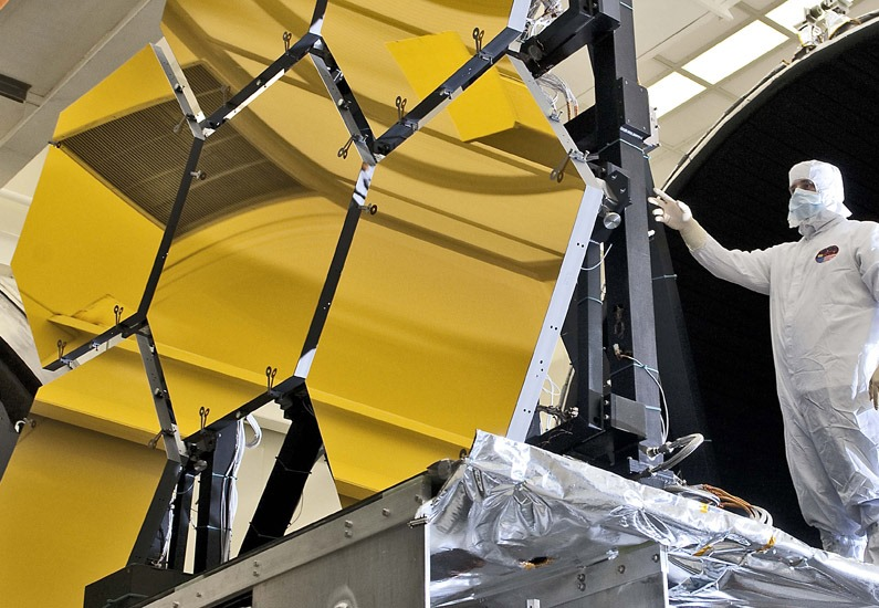 NASA James Webb Space Telescope JWST European Canadian Space Agency Northrop Grumman photo posted on SpaceFlight Insider
