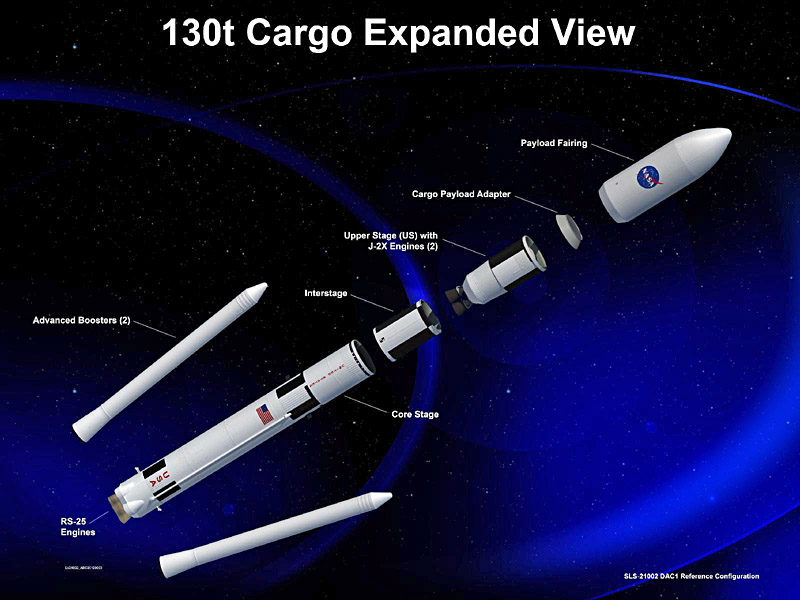 NASA Space-Launch-System-for-the-Orion-spacecraft NASA image posted on SpaceFlight Insider