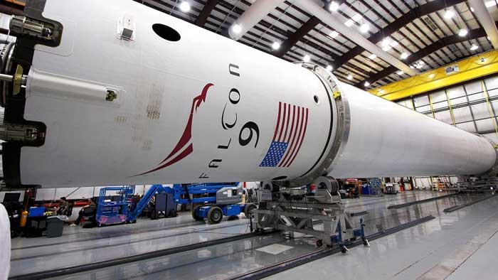Space Exploration Technologies Falcon 9 Space Launch Complex 40 SLC-40 photo credit SpaceX NASA posted on SpaceFlight Insider